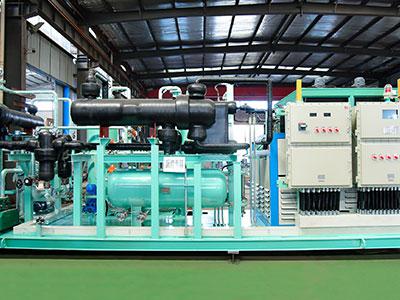 新疆澎湃100方油氣回收(shou)裝置